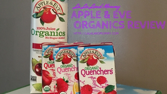 Product Review: Apple & Eve Organic Juice Review
